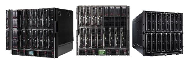 hp server blade series