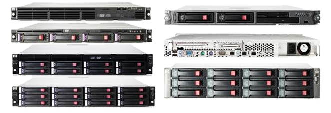 hp server DL series